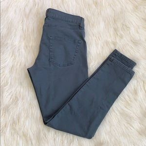 BDG skinny ankle zipper Moto  jeans